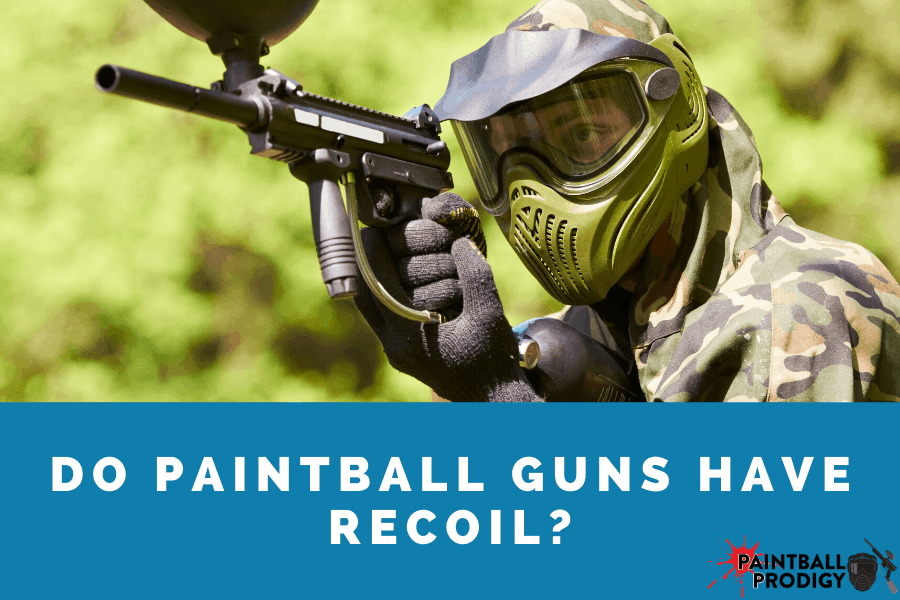 recoil in paintball guns