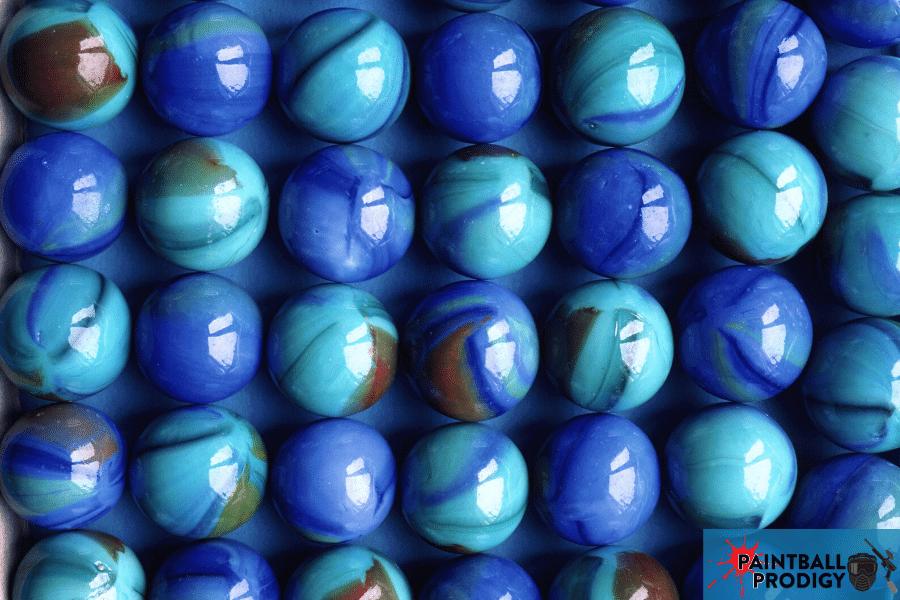 marbles looking like paintballs