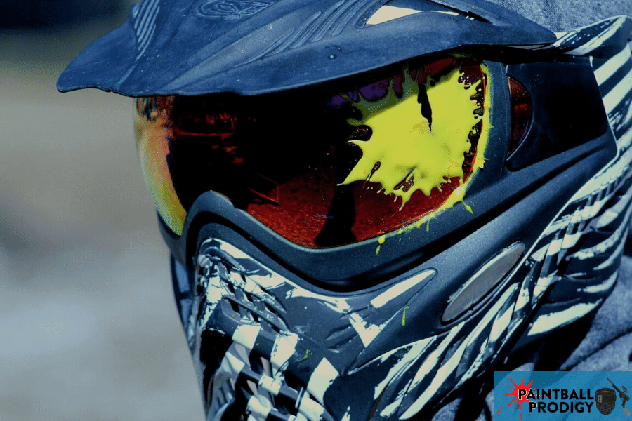 painting your own paintball mask