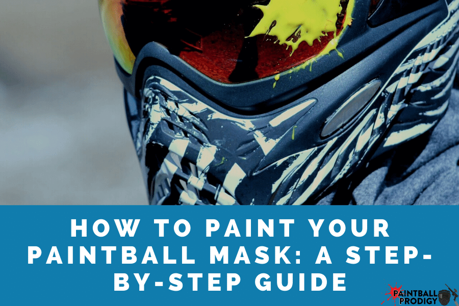 how to paint a paintball mask
