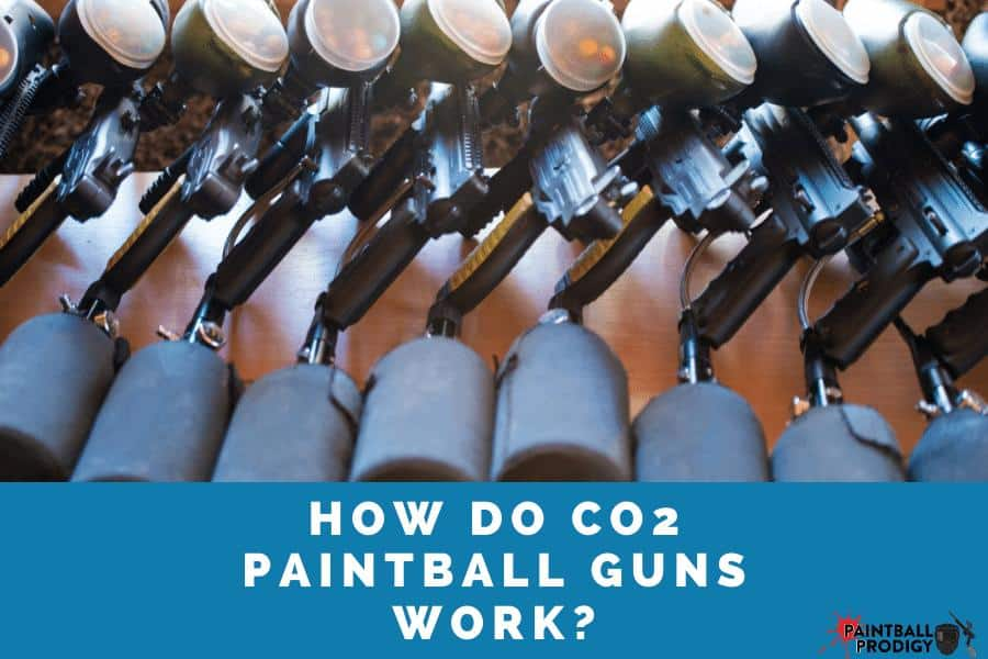 Workflow of a CO2 paintball tnak