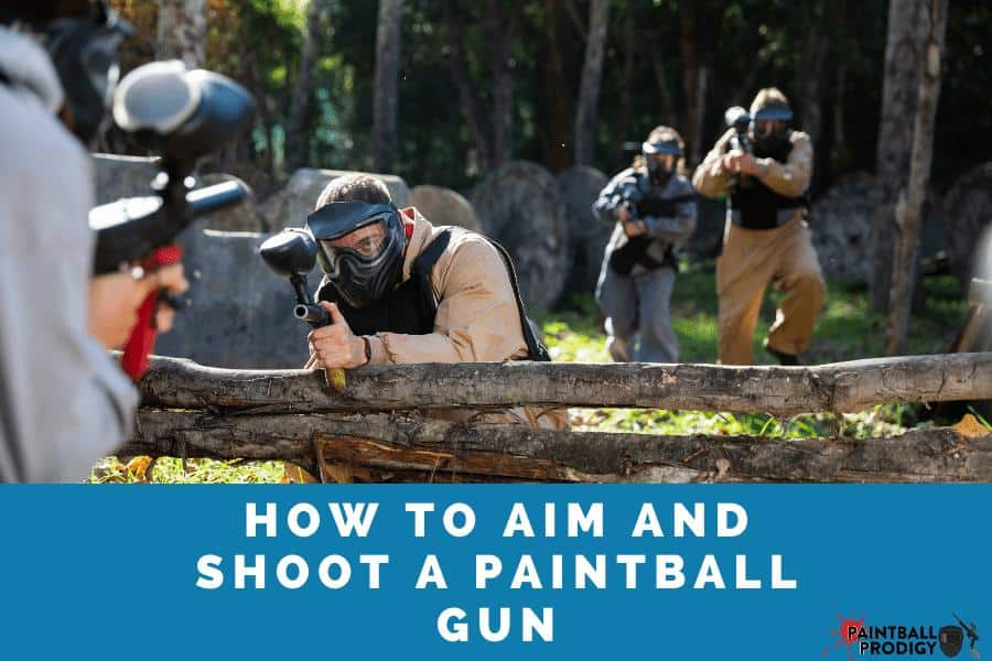 how to aim correctly in paintball