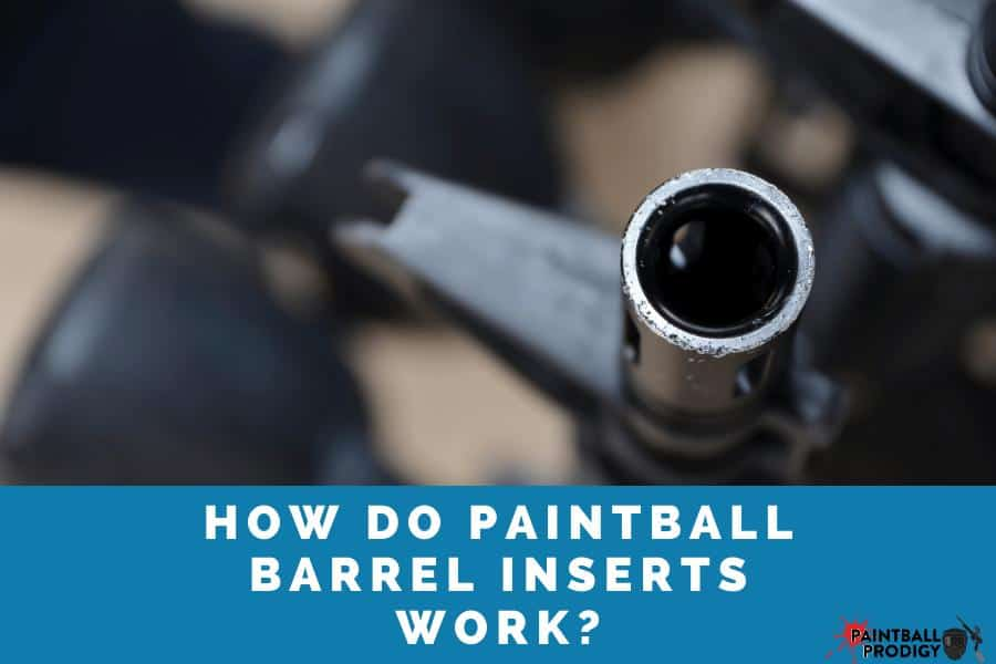 This is how paintball barrel inserts work