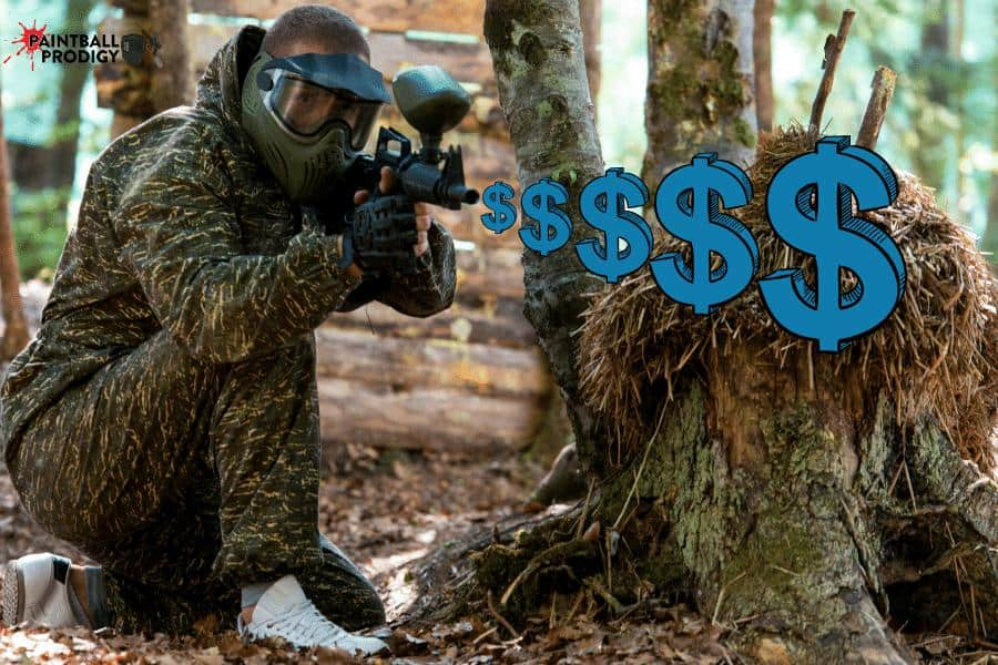 paintball doesn't need to be expensive