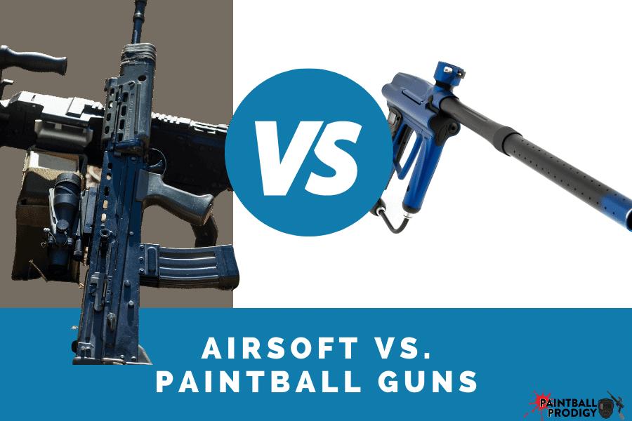 airsoft guns vs. paintball guns