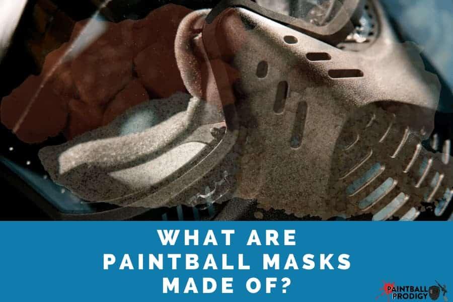 paintball masks materials
